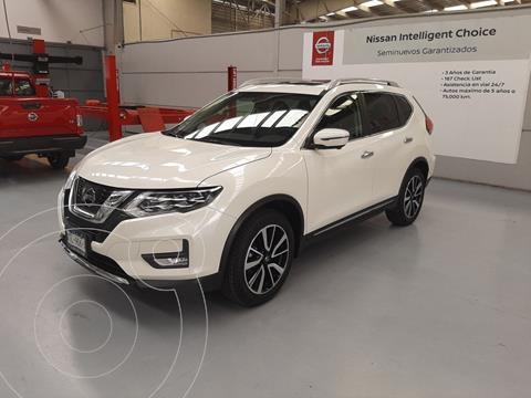 Nissan X-Trail Exclusive 2 Row usado (2020) color Blanco precio $499,000