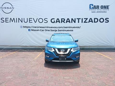 Nissan X-Trail Exclusive 3 Row usado (2019) color Azul precio $414,900