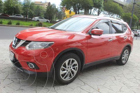 Nissan X-Trail Exclusive 3 Row usado (2015) color Rojo precio $269,000