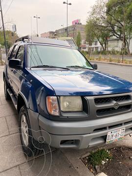 Nissan XTerra SE 3.3L 4x2 Piel usado (2001) color Azul precio $70,000