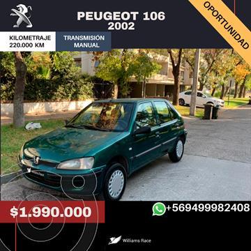 Peugeot 106 XN 5P usado (2002) color Verde precio $1.990.000