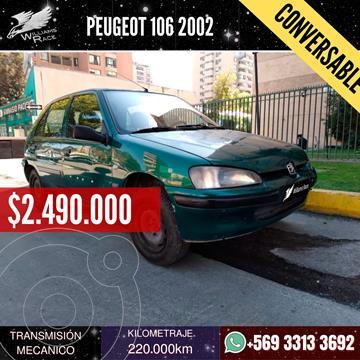 Peugeot 106 XN 5P usado (2002) color Verde precio $2.490.000
