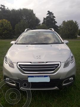 Peugeot 2008 Allure Aut usado (2017) color Plata precio $1.900.000