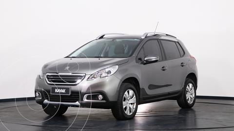 Peugeot 2008 Allure usado (2017) color Gris Aluminium precio $1.880.000