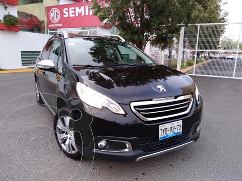 Peugeot 2008 1.6L usado (2014) color Negro Perla precio $170,000