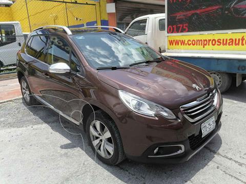 Peugeot 2008 1.6L usado (2014) color Cafe precio $149,000