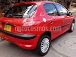 Foto venta Carro usado Peugeot 206+ 1.4L (2003) color Rojo precio $11.000.000
