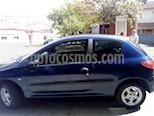Foto venta Auto usado Peugeot 206 1.6 XR 3P (2000) color Azul precio $95.000