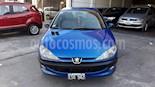 Foto venta Auto usado Peugeot 206 1.6 XR Premium 5P (2005) color Azul precio $145.900