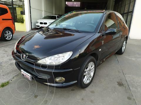 Peugeot 206 1.6 3P XS usado (2007) color Negro precio $490.000