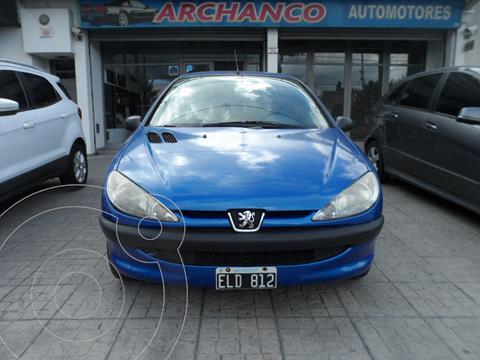 Peugeot 206 1.4 XR 3P usado (2004) color Azul precio $460.000
