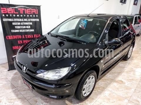 Peugeot 206 1.9 D X-Line 5P usado (2008) color Negro precio $420.000