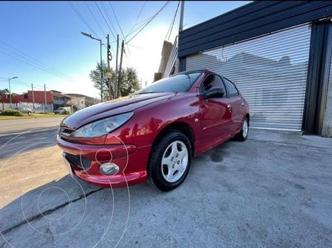 Peugeot 206 2.0 HDi XT 5P usado (2006) color Rojo precio $850.000