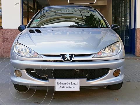 Peugeot 206 1.9 D Live! 5P usado (2007) color Plata precio $579.000