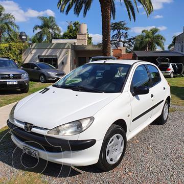 Peugeot 206 1.9 D X-Line 5P usado (2008) color Blanco precio $479.000