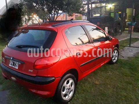 Peugeot 206 1.6 XT 5P usado (2001) color Rojo precio $300.000