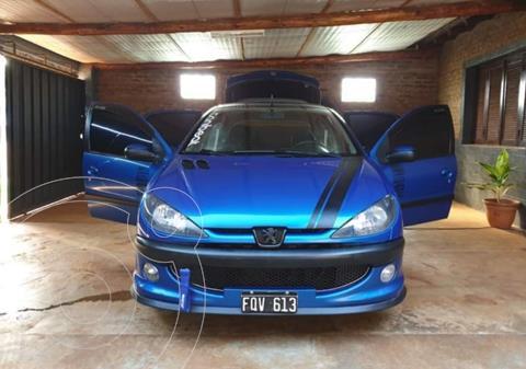 Peugeot 206 1.6 XT Premium 5P usado (2006) color Azul precio $600.000