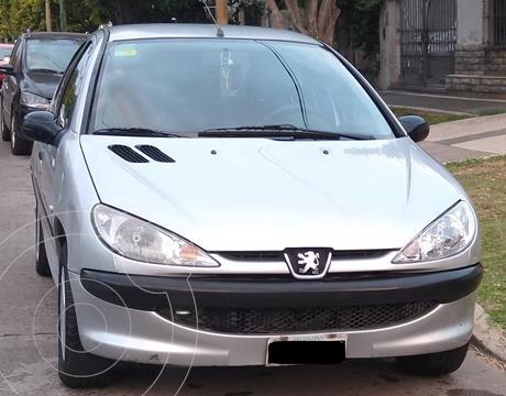 Peugeot 206 1.4 X-Line 5P usado (2007) color Plata precio $469.000