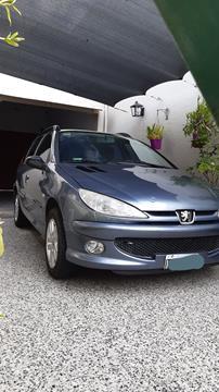 Peugeot 206 SW 1.6 Premium usado (2008) color Gris Oscuro precio $630.000