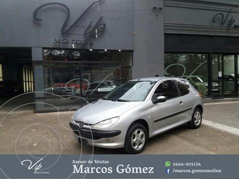 Peugeot 206 1.6 3P XS usado (2004) color Gris Claro precio $610.000