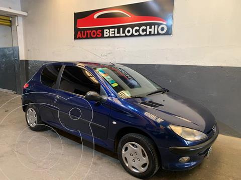 Peugeot 206 1.6 3P XS usado (2001) color Azul financiado en cuotas(anticipo $250.000)