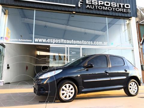Peugeot 207 Compact 1.4 Allure 5P usado (2013) color Azul precio $850.000