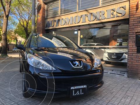 Peugeot 207 Compact 1.4 XR 3P usado (2013) color Negro precio $790.000