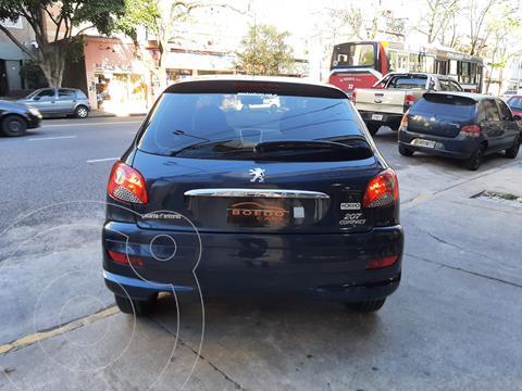 Peugeot 207 Compact 4P 1.4 Nafta Allure - XS (75cv) usado (2012) color Azul precio $849.900
