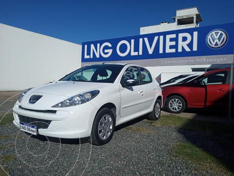 Peugeot 207 Compact 1.4 Allure 5P usado (2016) color Blanco precio $1.020.000