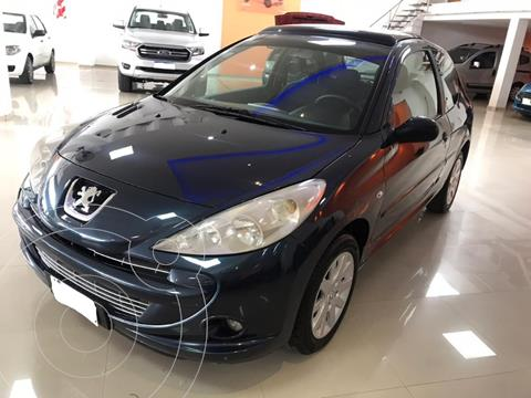 Peugeot 207 Compact 1.6 XT Premium 3P usado (2012) color Azul precio $690.000