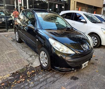 Peugeot 207 Compact 1.4 HDi XR 4P usado (2011) color Negro precio $660.000