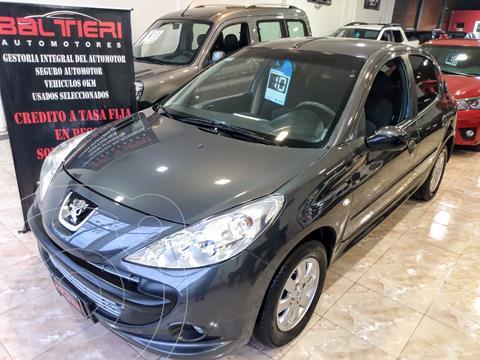 Peugeot 207 Compact 1.4 XS 5P usado (2010) color Gris Fer precio $830.000