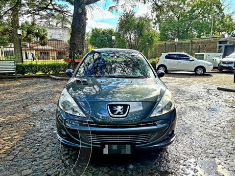 Peugeot 207 Compact 1.6 Feline 4P usado (2013) color Verde precio $760.000