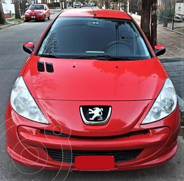 Peugeot 207 Compact 1.4 HDi Allure 5P usado (2015) color Rojo precio $1.050.000