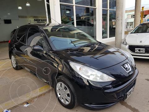 foto Peugeot 207 Compact 1.4 Active 4P usado (2013) color Negro precio $790.000