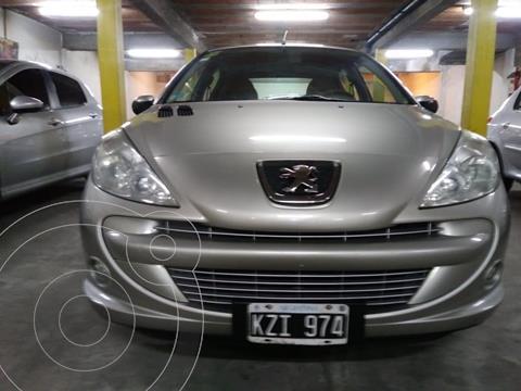 Peugeot 207 Compact 1.4 XS 5P usado (2012) color Gris Aluminium financiado en cuotas(anticipo $396.000)