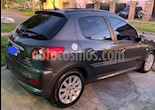Peugeot 207 Compact 1.6 XT 5P usado (2012) color Gris Grafito precio $390.000