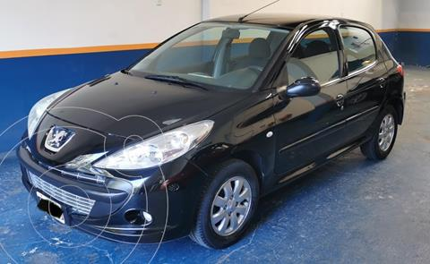 Peugeot 207 Compact 1.4 XS 5P usado (2011) color Negro Perla precio $780.000
