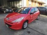 Peugeot 207 Compact 1.4 HDi Allure 5P usado (2015) color Rojo Aden precio $780.000