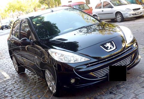 Peugeot 207 Compact 1.6 XS 5P usado (2012) color Negro precio $990.000