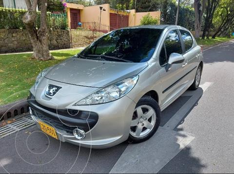 Peugeot 207 Compact 1.6L XR usado (2008) color Plata precio $24.300.000