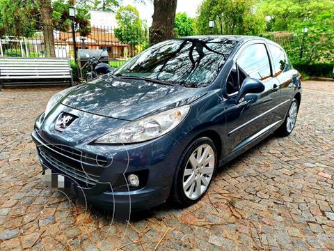 Peugeot 207 GTi 3P usado (2012) color Azul precio $1.160.000