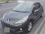 Peugeot 207 1.6L Premium usado (2013) color Gris precio $20.000.000