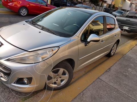 Peugeot 207 5P Allure usado (2012) color Gris Aluminium precio $90,000