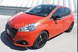 Foto venta Auto usado Peugeot 208 1.6L Feline Aut color Naranja precio $185,000