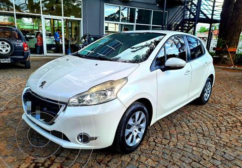 Peugeot 208 Active 1.5  usado (2013) color Blanco precio $1.350.000