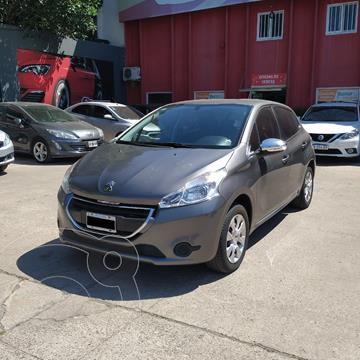 Peugeot 208 Active 1.5 usado (2015) color Gris precio $1.420.000