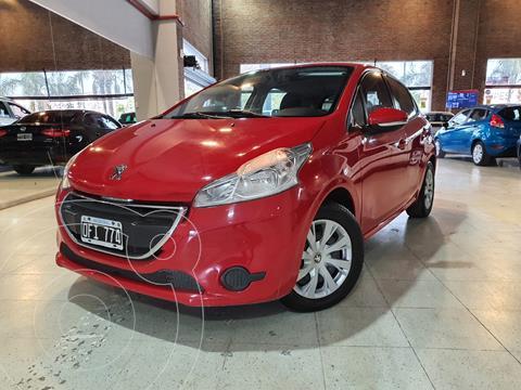 Peugeot 208 Active 1.5  usado (2014) color Rojo Aden financiado en cuotas(anticipo $600.000)
