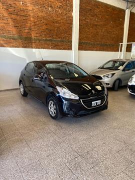 Peugeot 208 Active 1.5 usado (2015) color Negro Perla financiado en cuotas(anticipo $595.000)