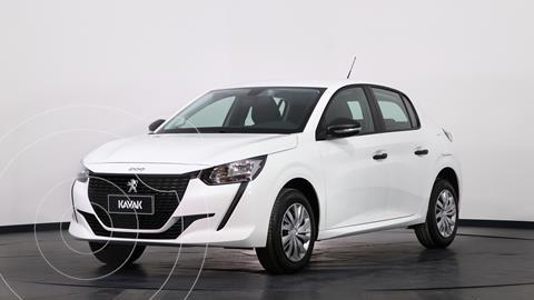 Peugeot 208 Like 1.2 usado (2021) color Blanco Banquise precio $1.810.000